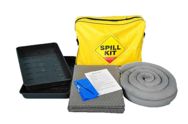Spill-Safe 50 Litre General Purpose Spill Kits & Spill Trays - GSK50DTI - GRF50DTI