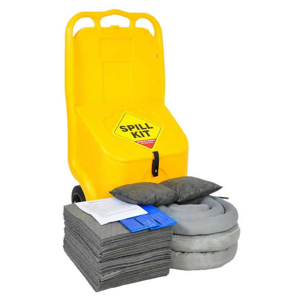 Spillpod MOBI 70Ltr General Purpose Mobile Spill Kit - GSK70M - GRF70M