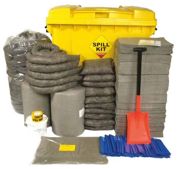 Spill-Safe 800 Litre General Purpose Wheelie Bin Spill Kits - GSKT - GRFT