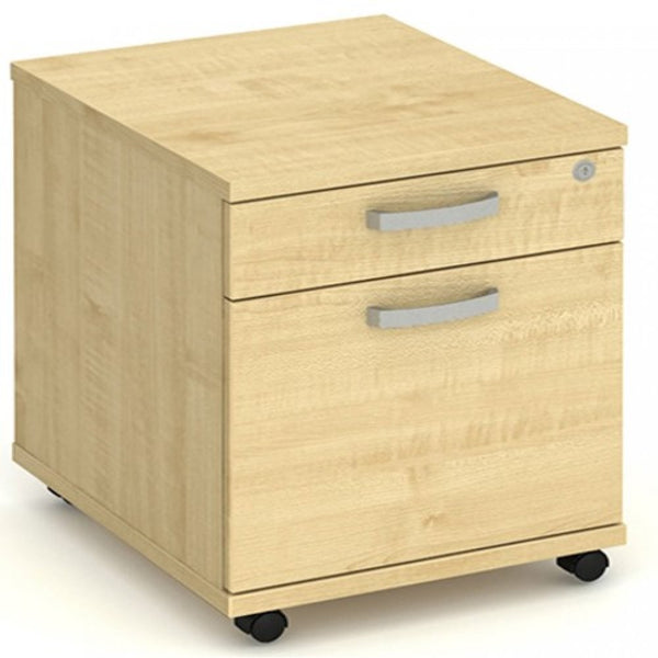 Dynamic 2 Drawer Mobile Storage Pedestal - IMP2