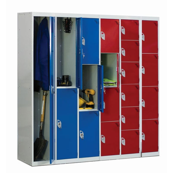 QMP Standard Lockers - 380 x 380mm - LS1838381 - LS1838386