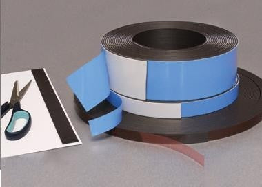 Self Adhesive Magnetic Strip - 50mm x 10m - MSSA/50