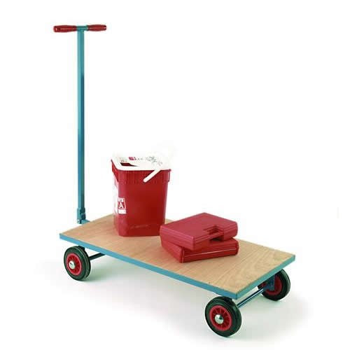Work Gear Flat Bed Mini Turntable Trailer - MW25