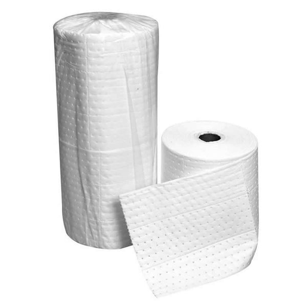 Spill-Safe Oil & Fuel Double Weight Rip & Place Absorbent Rolls - OREMN/TP - ORM38/TP