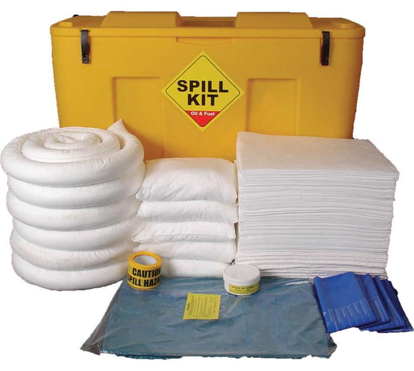Spill-Safe 250 Litre Oil & Fuel Mobile Locker Spill Kits - OSKJ - ORFJ