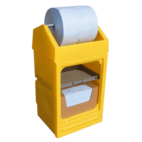 Spill-Safe Poly Dispensing and Work Stands - PDS - PWSD
