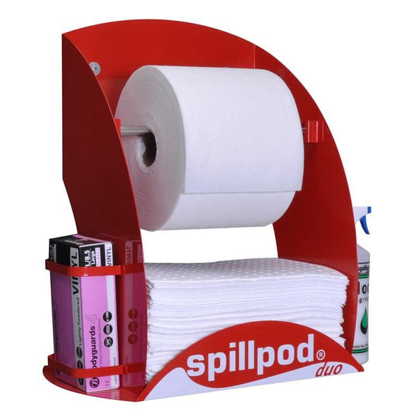 Spillpod Duo Oil & Fuel Non Lint Dispensing Sheet Units - S2663 - R2663