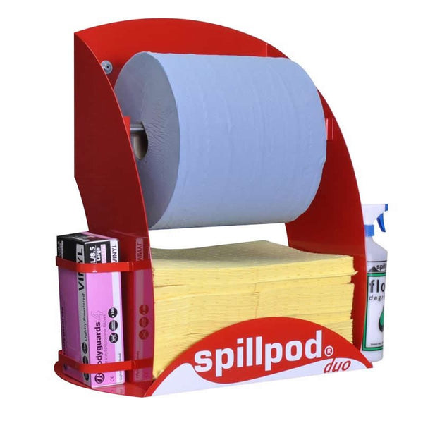Spillpod Duo Chemical 2 Ply Dispensing Sheet Units - S2771 - R2771