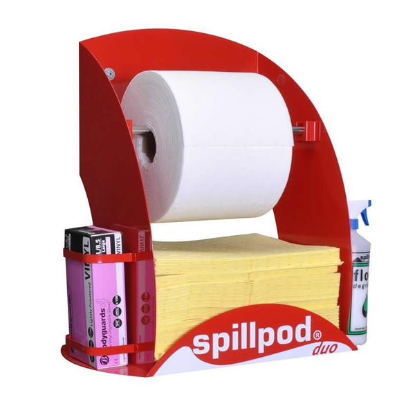 Spillpod Duo Chemical Non Lint Dispensing Sheet Units - S2773 - R2773