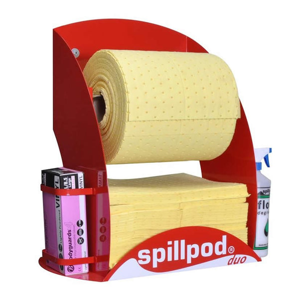 Spillpod Duo Chemical Quick Rip Sheet Dispenser Units - S2774 - R2774