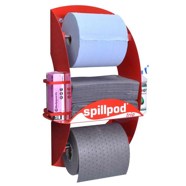 Spillpod Trio General Purpose 2 Ply Dispensing Sheet Units - S3001 - R3001