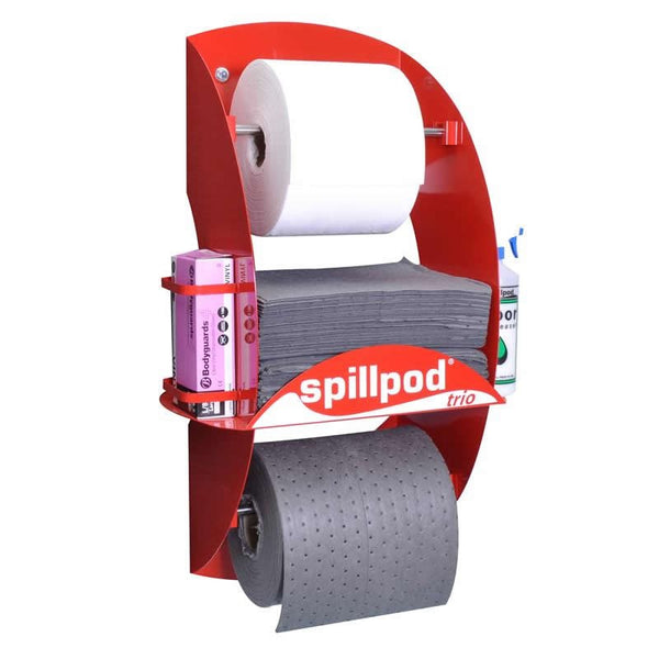 Spillpod Trio General Purpose Non Lint Dispensing Sheet Units - S3003 - R3003
