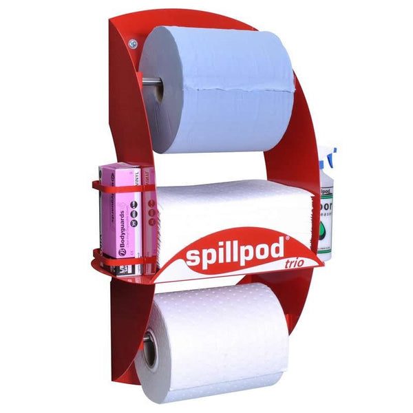 Spillpod Trio Oil & Fuel 2 Ply Dispensing Sheet Units - S3661 - R3661