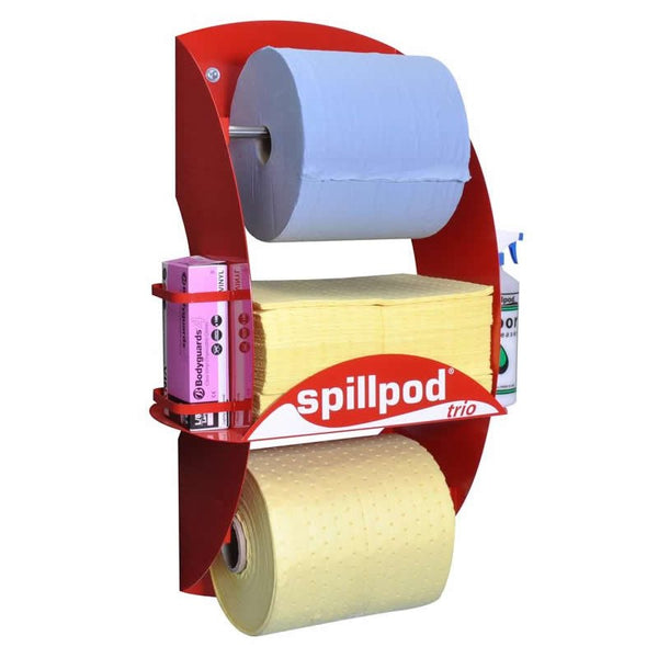 Spillpod Trio Chemical 2 Ply Dispensing Sheet Units - S3771 - R3771