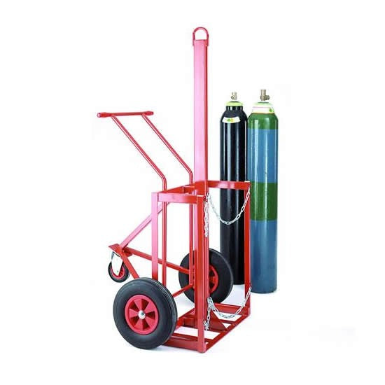 Work Gear Cylinder Lifting Trolley for 2 x 180-230mm Dia Cylinders - SC27
