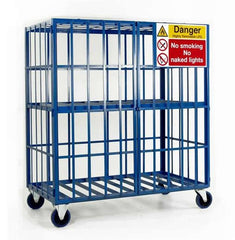 Work Gear Mobile Cylinder Storage Cage for 16 x Propane Type Cylinders - SC501
