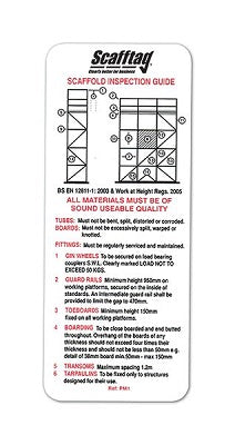 Scafftag Pocket Guide - SCF05