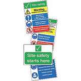 Construction Site Safety Sign - MM123AJRP - MM123AXRP