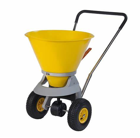 Trojan Hand Push Salt Spreader - SW35-C