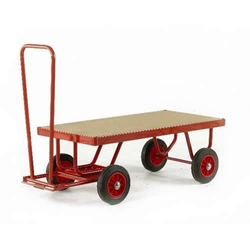 Work Gear Trader Truck MDF Deck Hand Turntable Trailers - TR120 - TR130P