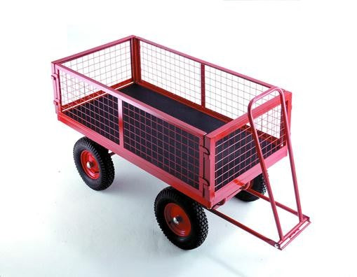 Work Gear Fixed Mesh Wire End Hand Turntable Trailers - TR351 - TR353P