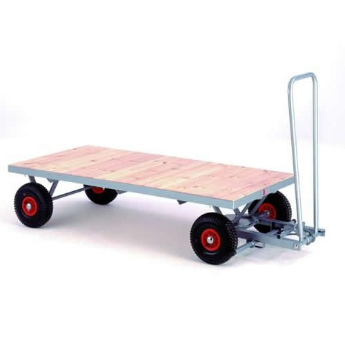 Work Gear Flat Bed Hand Pull Trailers - TR40 - TR70P