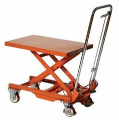 Warrior Manual Single Lifting Table - 750Kg - WR75