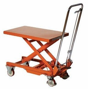 Warrior Manual Single Lifting Table - 1000Kg - WR100