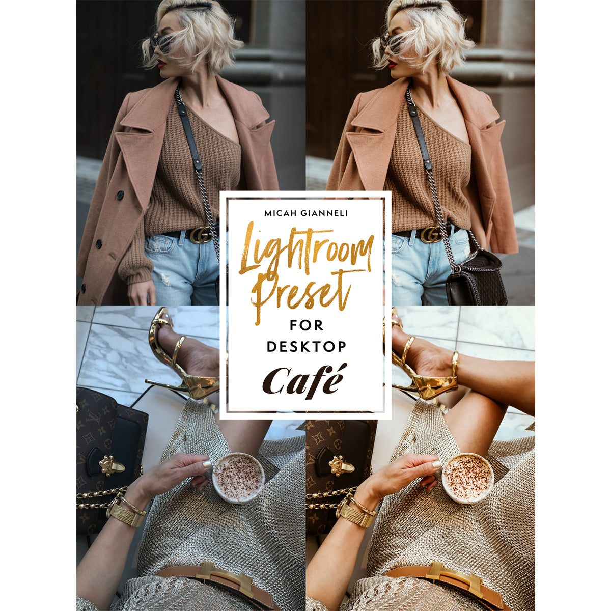 LIGHTROOM PRESET - FOR DESKTOP - CAFÉ
