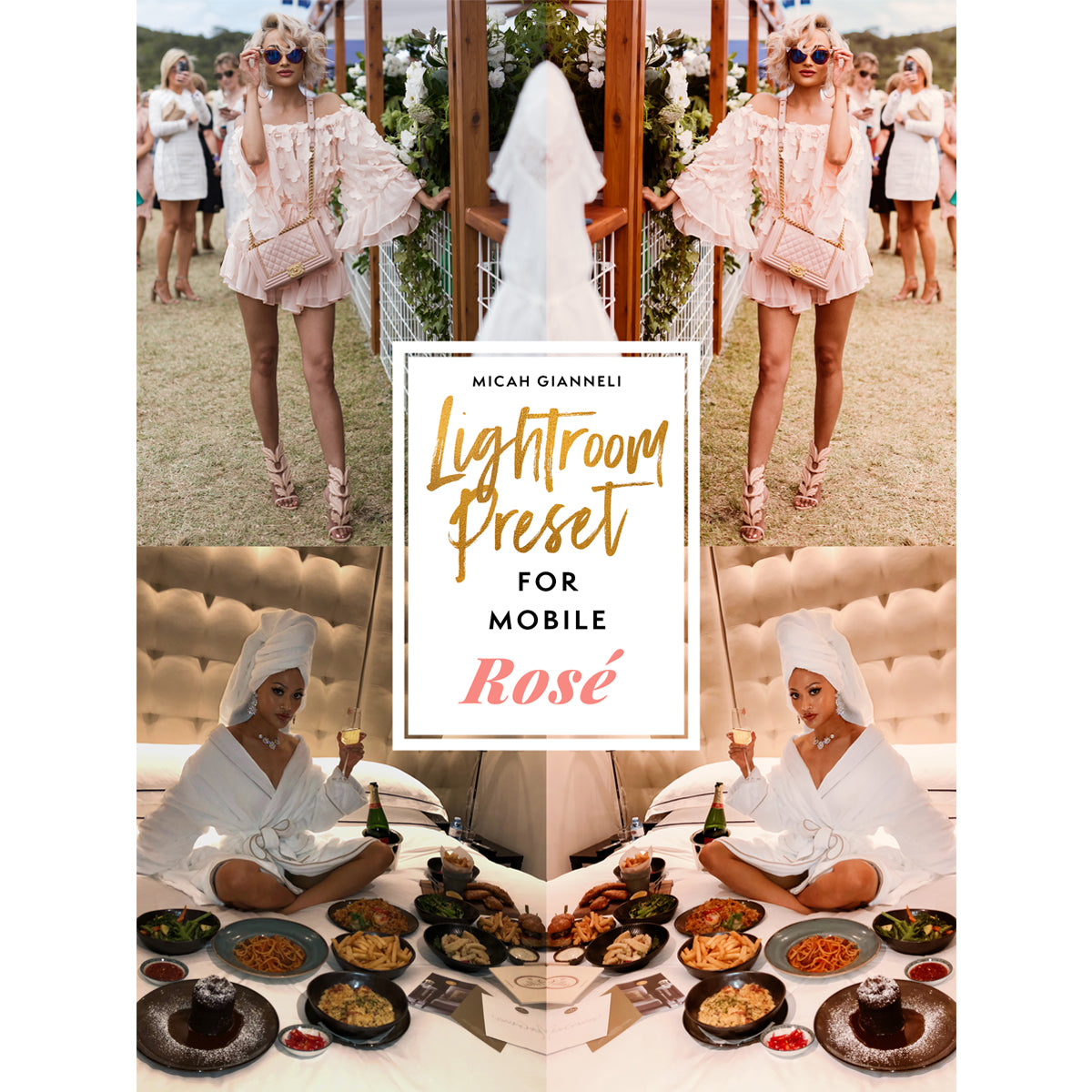 LIGHTROOM PRESET - FOR MOBILE - ROSÉ