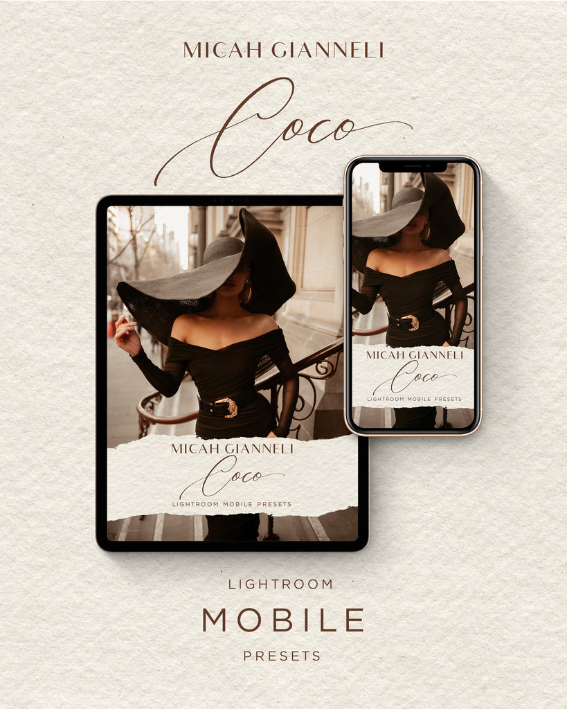 Coco Lightroom Mobile Presets