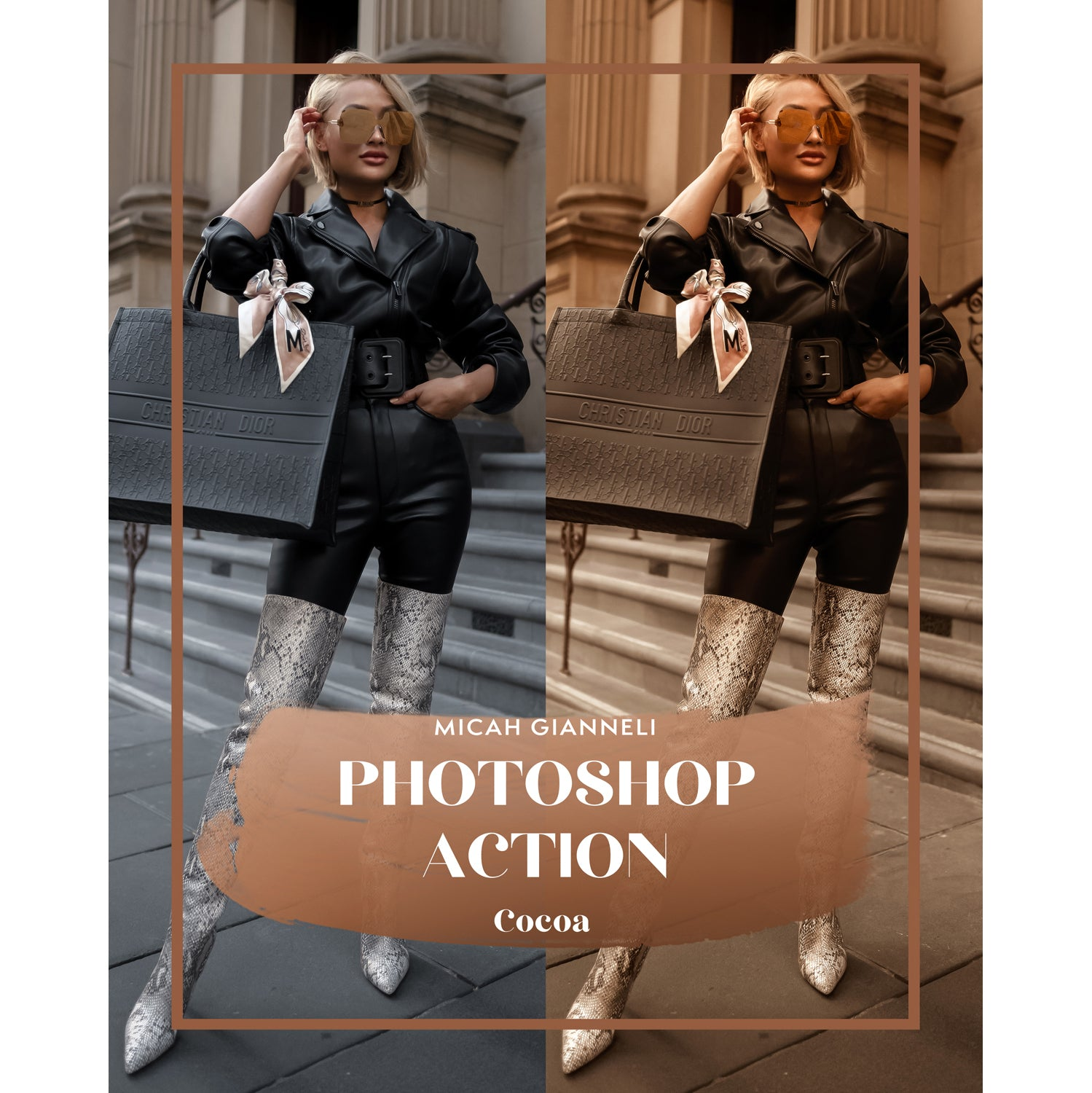 Photoshop Action - Cocoa