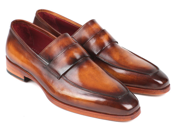 Paul Parkman Men's Loafers Brown (ID#093-BRW)