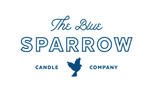 Blue Sparrow Candles