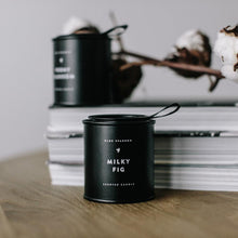 MILKY FIG CANDLE - Small Black