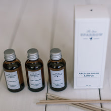 REED DIFFUSER SAMPLE SET OF 3