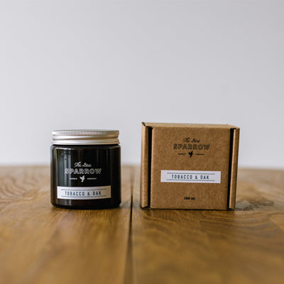 TOBACCO & OAK JAR CANDLE