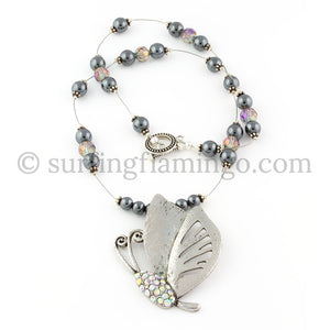 Lift Me Up – Butterfly Pendant Necklace