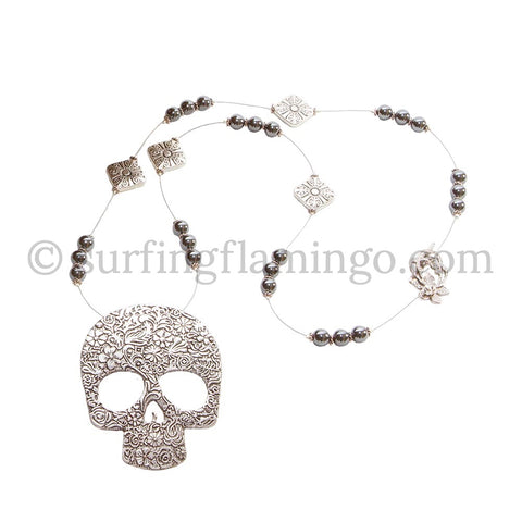 Sweet Skull - Skull Pendant Necklace