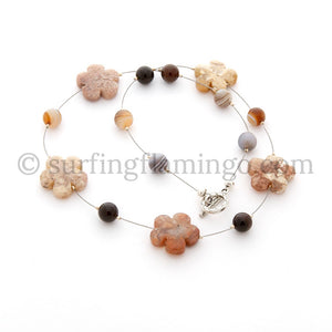 Autumn Flowers - Mookaite Jasper