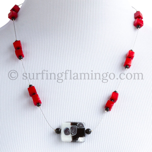 Hip To Be Square – Floating Necklace