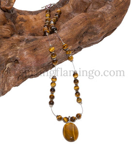 Tiger Tales – Tiger Eye Necklace