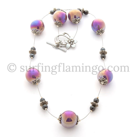 Day Dream Believer - Ceramic Bead Necklace