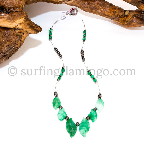 Jaded – 6 Piece Jade Necklace