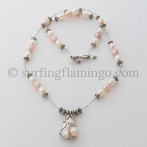 Pretty in Pearls - Freshwater Pearl Necklace
