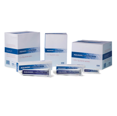 Aquagel Sterile 82g Lubricating Tubes