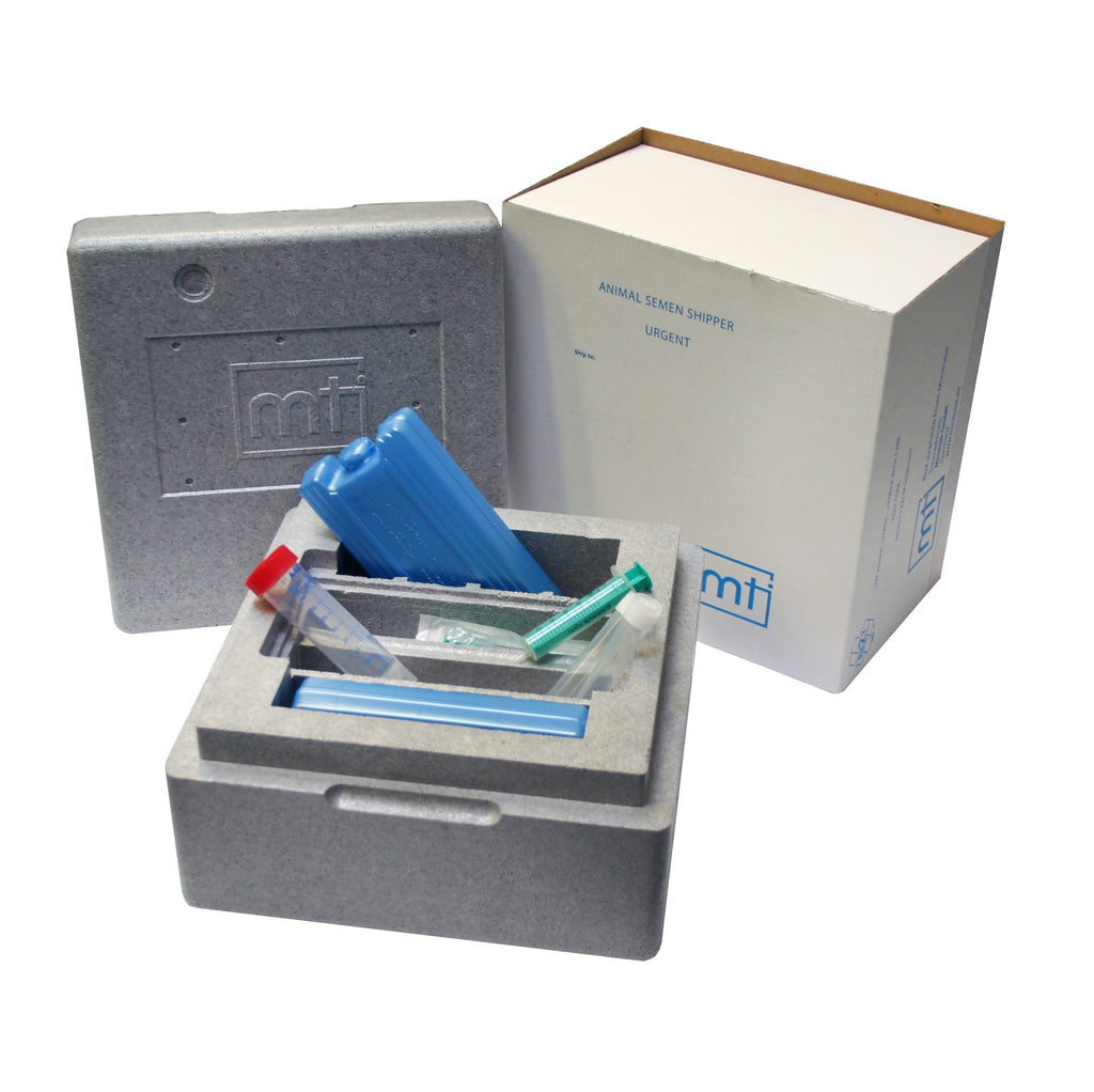 Minitube Canine Semen Transport Box Re-Useable