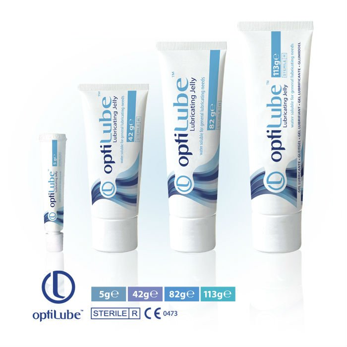 Optilube Sterile 82g Lubricating Tubes