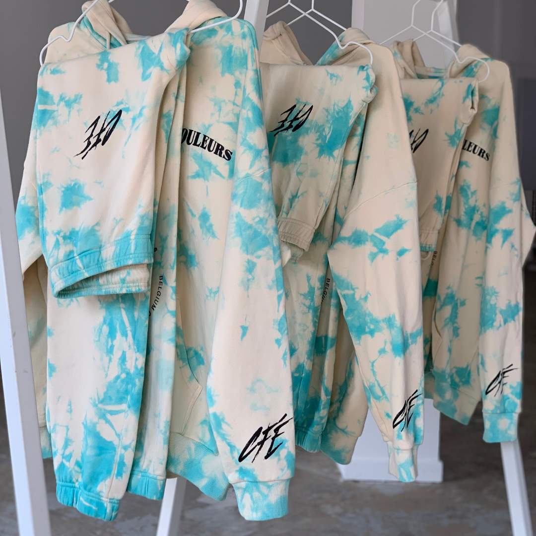 SLOW DRIP TIE DYE SWEATPANTS