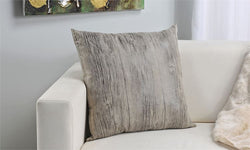 Wood Grain Design Decorative Pillow (19.7 x 19.7